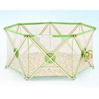Buy cheap Mesh Folding Baby Playpen Fence / Infant Play Yard Double Lock product