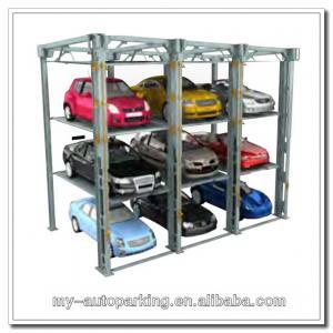 Buy cheap sistema mecánico del aparcamiento del garaje de la elevación del aparcamiento de 3 niveles product