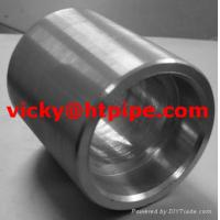 China duplex stainless ASTM A182 F64 threaded half coupling on sale