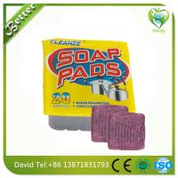 Buy cheap soap pads steel wool in red color product