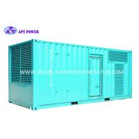 Buy cheap 1500kW Diesel Engine Generator Container Industrial Diesel Generator product