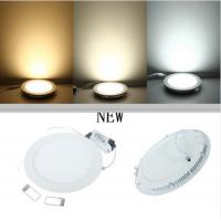 Buy cheap Aluminum Alloy Shell Recessed LED Ceiling Panel Light 3W 4W 6W 9W 12W 15W 25W product