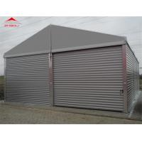 China Water Proof 10m Industrial Storage Tents Max Wind Speed Allowance 70 - 100km/H on sale