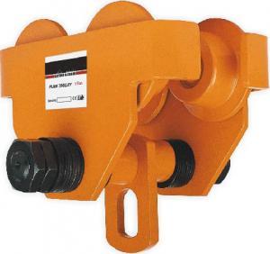 Buy cheap Grua Chain manual do trole de pouco peso da planície de GCT 619 com estrutura simples Hand-pushed product