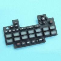Buy cheap Good-quality Conductive Rubber Keypad with Laser Etched for Easy Operation on Dark product