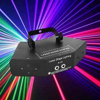 Buy cheap 6 Eyes 360 degree Large Angle Scan Rotation Mini Scanning Pattern Laser Stage Lighting product