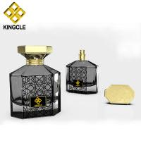 Buy cheap High quality empty square perfume bottle 100ml glass design from wholesalers