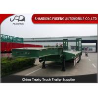 Buy cheap Heavy Duty Truck transportation 80 ton Lowbed Semi Trailer Trucks And Trailers product