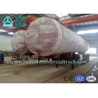 Buy cheap 45M3 3 Axles Heavy Duty Lpg Propane Gas Tank Trailer With Air Suspension product