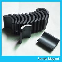 Quality Y30 Grade Ferite Arc Magnets For Motors Ferite Ceramic Motor Arc Magnets for sale