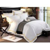 Buy cheap Hotel Bed Linen White Color And 60S With 100% Cotton Or Poly/Cotton product