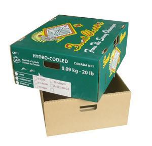 Buy cheap Boîte forte à cerise de boîte à tomate de carton d'emballage de fruit avec le couvercle product