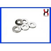 Buy cheap Neodymium Ring Shaped Magnet Strong Permanent Type SGS / ROHS Certified For Speaker product