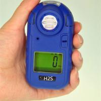 GC230 Pocket H2S gas Monitor used in oil and gas field with primary lithium battery