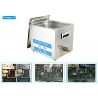 Buy cheap 200 Watt 10L Ultrasonic Cleaner Electronics For Restoring Electrical Board from wholesalers
