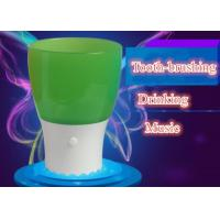 Buy cheap Educational Kids Toothbrush Cup Colorful Music Cup Drinking Glass With LED Light from wholesalers