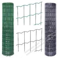 Buy cheap Plastic Coated Welded Wire Mesh Rust - Resistant For Sport Yard / Residential product