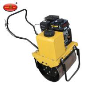 Buy cheap ZM-50 540kg 70 hz Gasoline Walk Behind Double Drum Vibratory Roller product