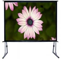 """Buy cheap 100"""" - 300""""  Big collapsible projection screen with aluminum housing product"""