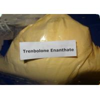 Buy cheap Muscle Growth Tren Anabolic Steroid Trenbolone Enanthate Yellow Crystalline CAS 10161-33-8 product