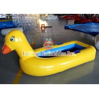 Yellow Duck Inflatable Water Toys PVC Water Amusement Floating Boats