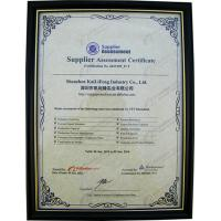 SHENZHEN KAILIFENG INDUSTRY CO.,LTD Certifications