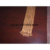 "2 "" Width Knitted Copper Wire Mesh Double / Multi - Filament Durable And Long Service Life"