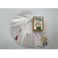 Buy cheap 100pcs Joking Hazard Card Game Custom Playing Cards English Version Easy Carry from wholesalers