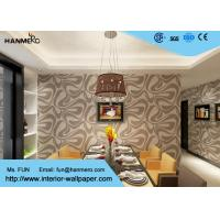 Nonwoven Modern Removable Wallpaper For Bedding Room With Foam
