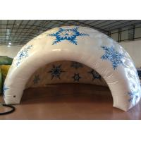 Buy cheap Sealed Dome Inflatable Event Tent Advertising Digital Printing 5 X 5m 0.65mm PVC product