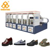 Buy cheap Hydraulic Compression Moulding Rubber Sole Making Machine Static Type Save energy product
