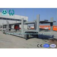 Buy cheap 2 Layer Skeletal Structure Auto Transport Trailer With Hydraulic Cylinder product