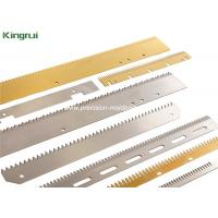 Buy cheap Large Volume Precision Straight Tooth Blade Packaging Knives in Stock product