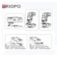 Buy cheap TRIOPO TR-800 Transmitter Camera accessories/remote wireless TTL HSS 1/8000S Flash Trigger with black color product
