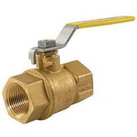 Buy cheap 2 Piece Full Port Thread Connection 600WOG Brass Material Ball Valve 150WSP product