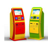 Quality Capacitive Touch Screen Vending Bill Payment Kiosk With Magnetic Card Reader for sale