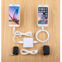 Buy cheap COMER 2 USB port Alarm System Cellphone TABLETOP security display Acrylic holders product