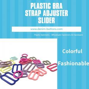 Buy cheap DTM Nylon Coated Plastic Bra Strap Adjuster Slider product