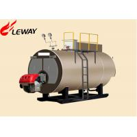 China Original Italy Burner Oil Fired Hot Water Boiler , Oil Fired Heating Boilers Large Heating Surface on sale