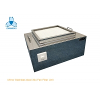 Buy cheap Small Mirror Stainless Steel 304 HEPA Filter Unit With Motor product