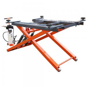 Buy cheap One Cylinder Heavy Duty CE 6000lb Mid-Rise electric pump Scissor Car Lift product