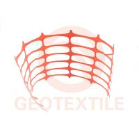 Buy cheap Ski Areas / Construction Barrier Netting , Warning Builders Orange Plastic Fencing product