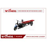 Buy cheap Clay Row Materials 3 Wheel Cargo Motorcycle , Cargo Moped Brick Carrier from wholesalers
