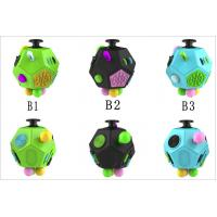 China Magic Fidget Cube Relieves Squeeze Fun , Anxiety and Stress Cube Juguet Desk Spin Toys wholesale