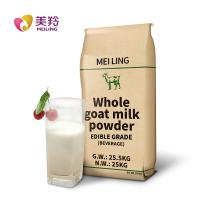 Buy cheap Food Grade 25kg Dry Goat Milk In Drinking / Food Additive product
