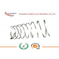 Buy cheap Sliver White Pure Nickel 201 Ribbon UNS NO2200 Flat FeCrAl Alloy Wire / Ribbon / strip / Coil product