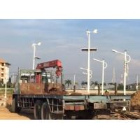 China One Power Three Hybrid Street Light  Wind Turbine And Solar Panel Power System Creat Constant Flow Of Power  For The LED on sale