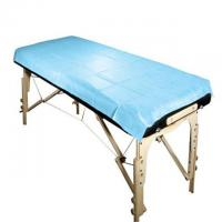 Buy cheap Blue Medical Disposable Bed Sheets Non Woven Surgical Products S M L Size product