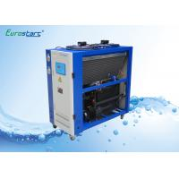 Buy cheap 8 HP Double Condenser Portable Water Chiller Units Water Cooled Ac Unit 380V product