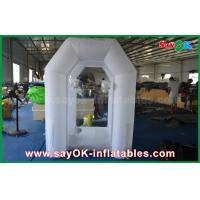 China Mini Portable Led Lighting Money Inflatable Booth For Amusement 2 Years Warranty on sale